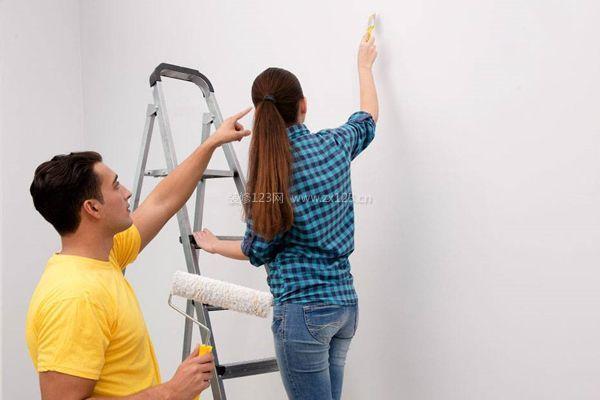 墙面粉刷图片